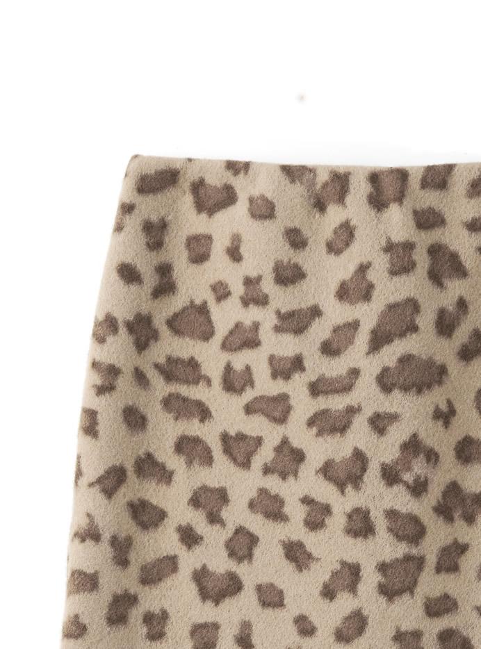 レオパードミニスカート