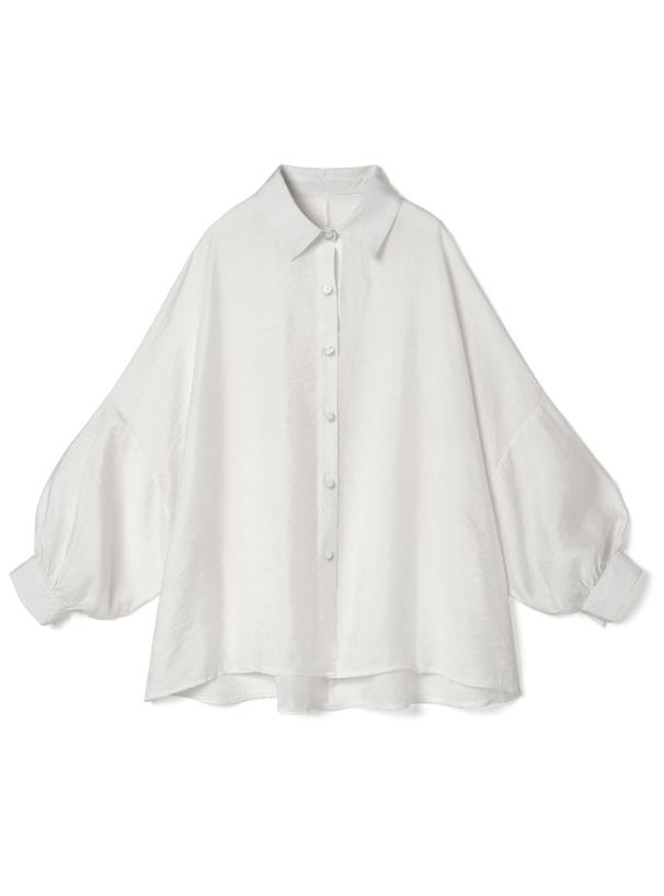 ドルマンスリーブシアーシャツ