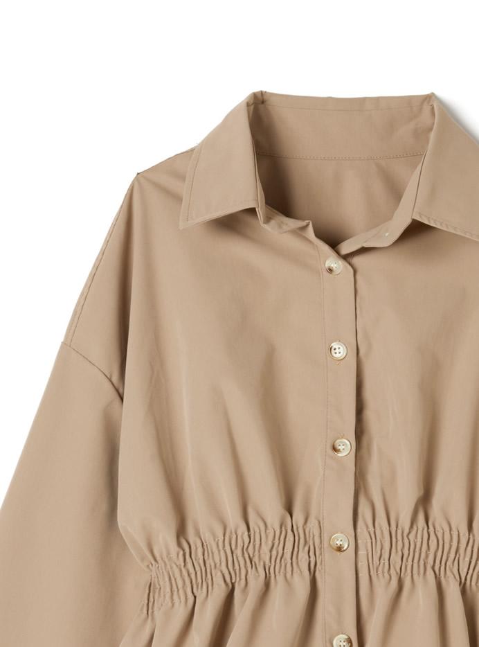 ウエストシャーリングシャツ