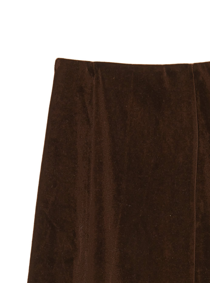 ベロアマーメイドスカート