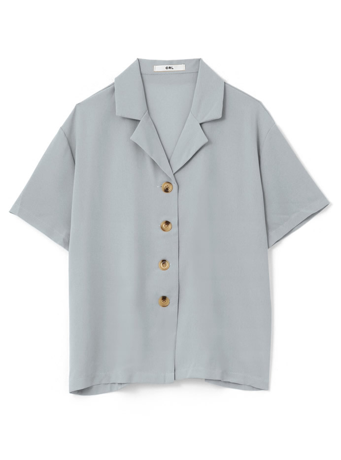 オープンカラーシャツXパンツセットアップ