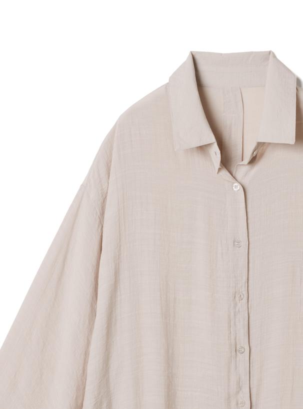 シアーロングシャツ