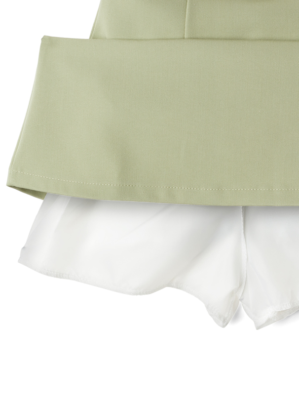 インパン付き台形ミニスカート