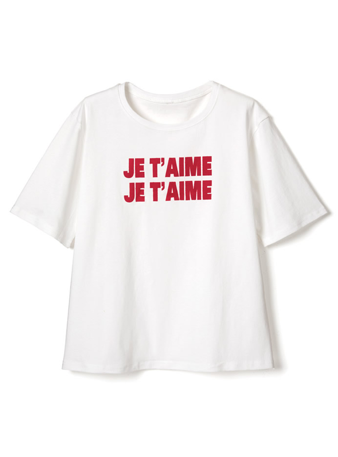 JE T'AIMEロゴTシャツ