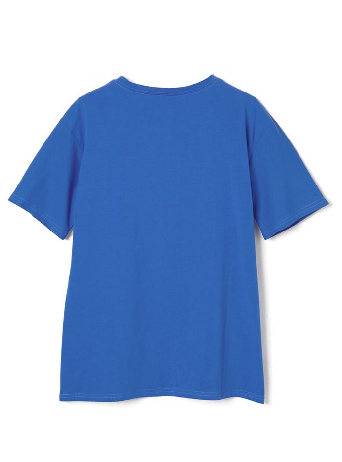手書き風ロゴTシャツ