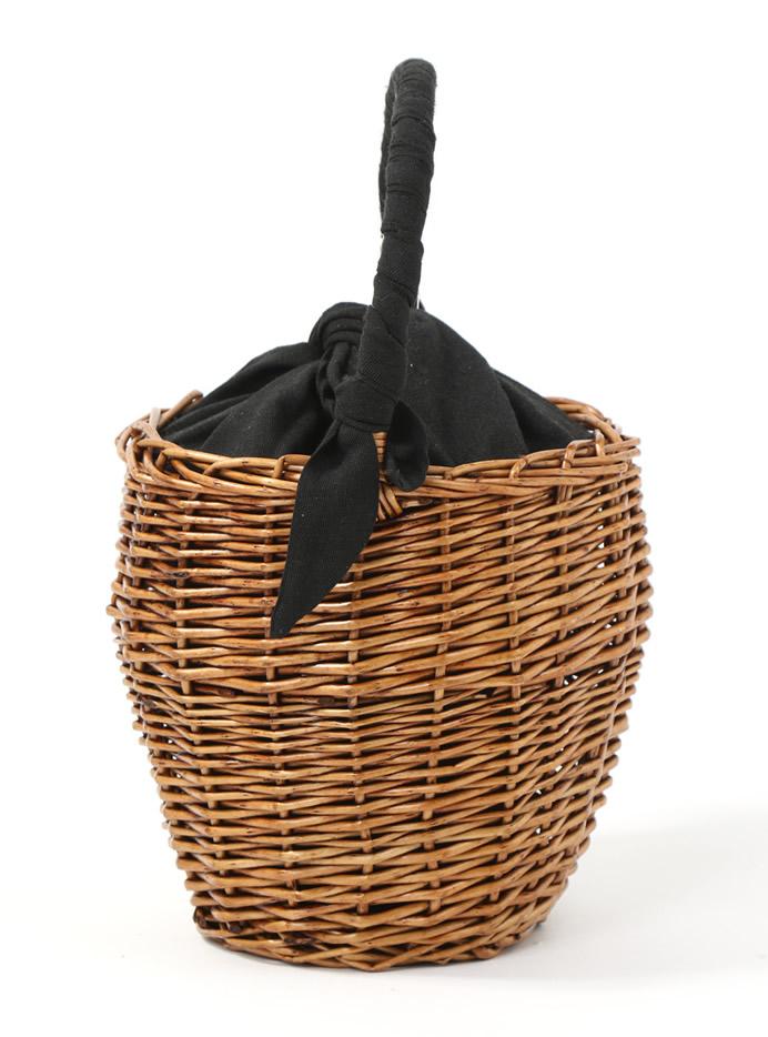 ハンドルリボンバケツカゴバッグ