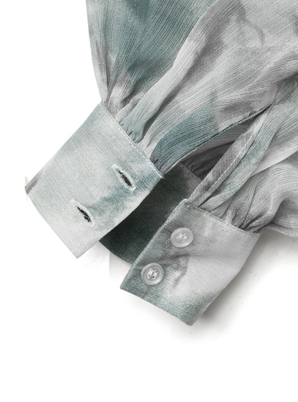 タイダイラメシアーシャツ