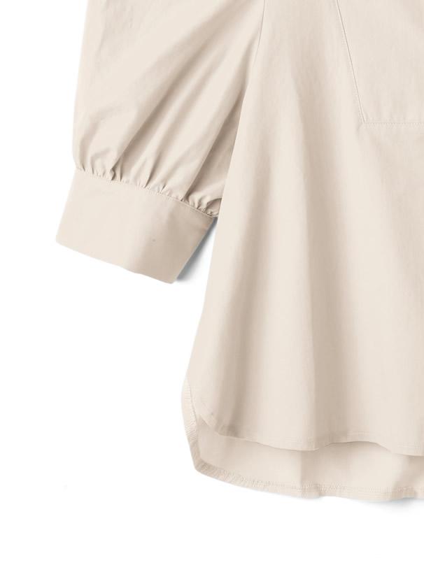 白石麻衣 ドレスシャツ風ブラウス