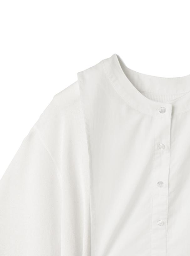 TシャツXブラウスベストセット