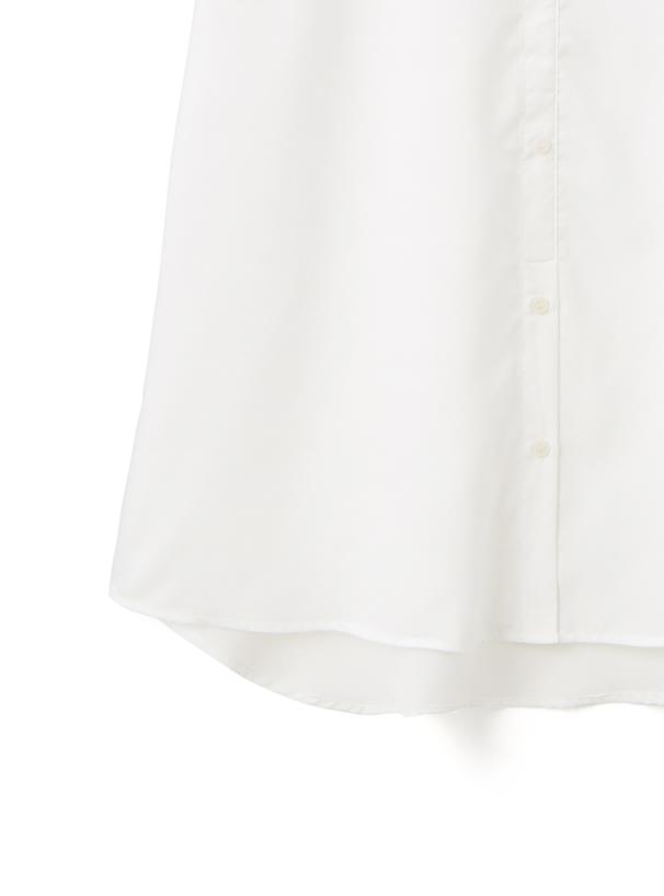 ニットドッキングシャツワンピース