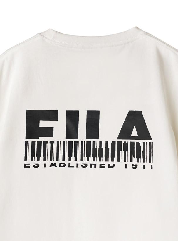 BTS着用モデル ノベルティ付FILAロゴTシャツ