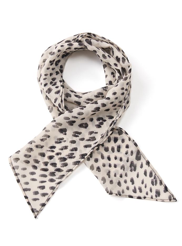 ダルメシアン柄スカーフ