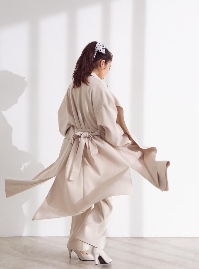 今田美桜 ダルメシアンプリントスカーフ
