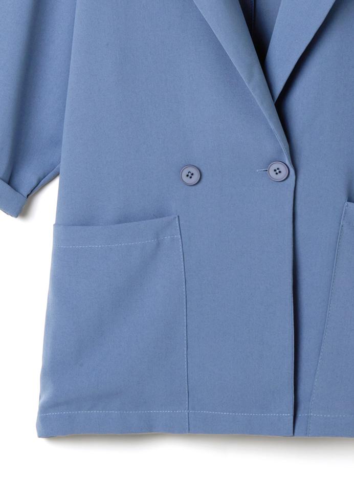ジャケットXキャミソールXショートパンツ3点セットアップ