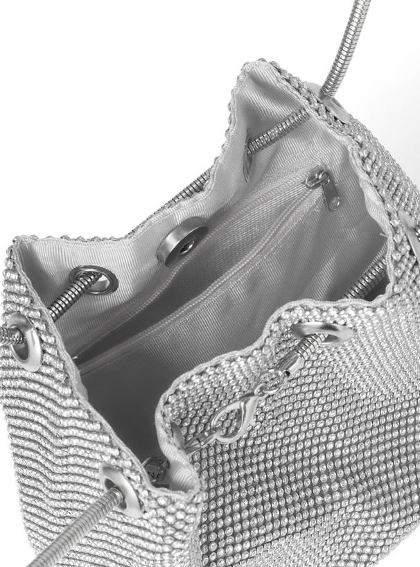 ストーンショルダーバッグ