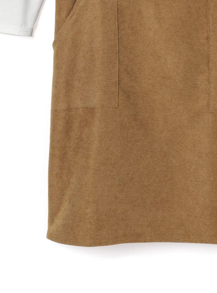 トップスxポケット付きジャンスカセット