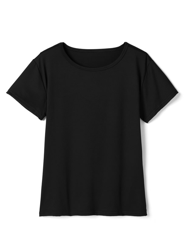 Tシャツ×サス付きドロストオールインワンセットアップ