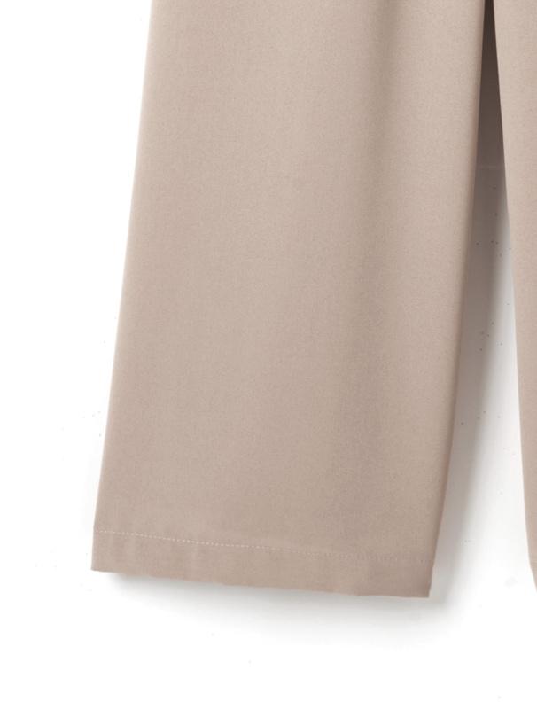 Tシャツ×キャミ前ボタンオールインワン2点セット