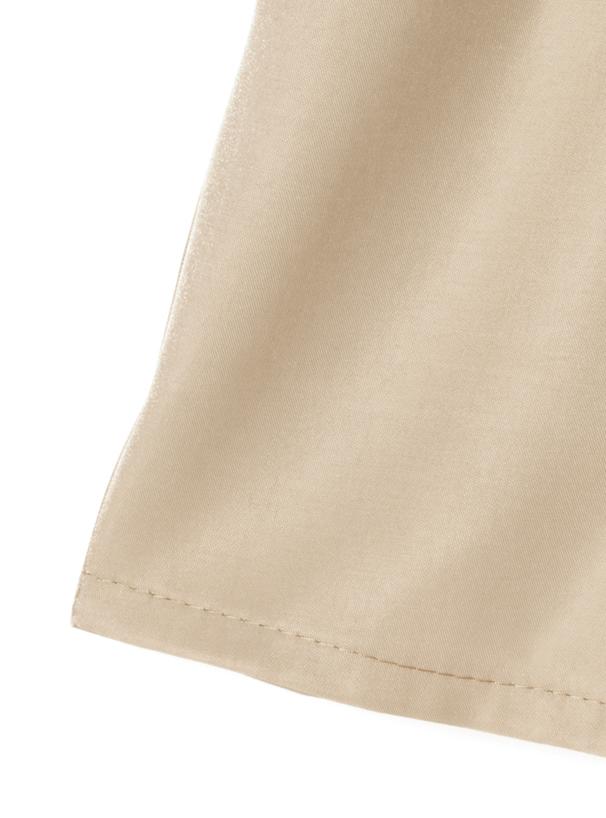 リボンベルト付きショートパンツ