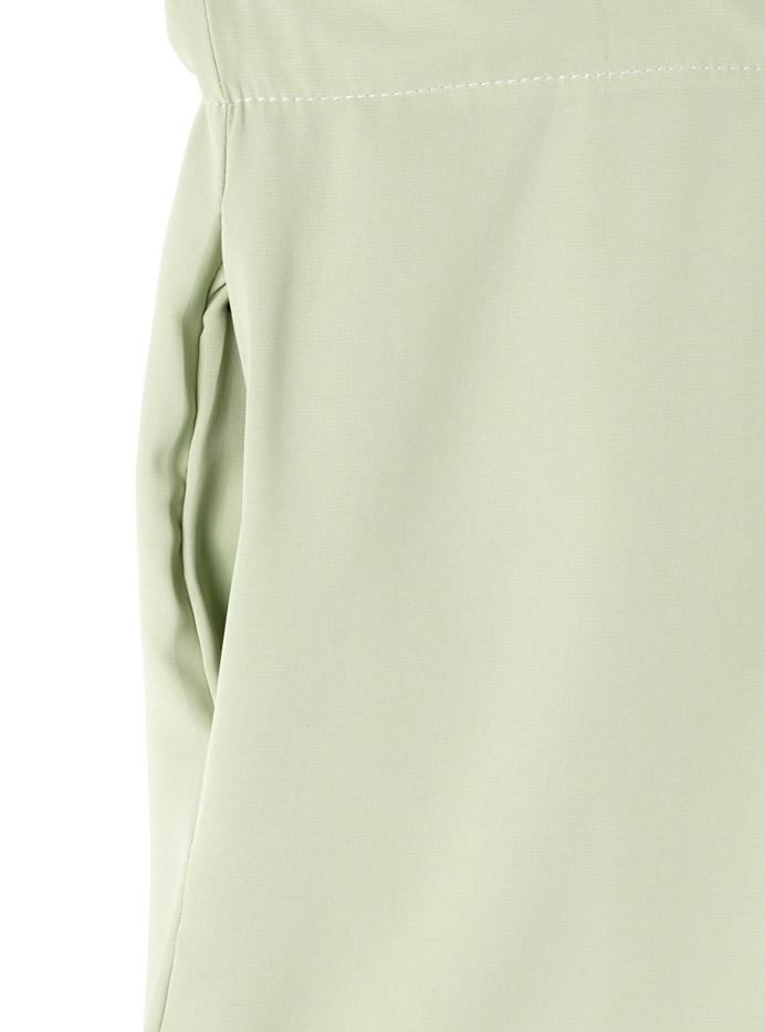 オープンカラーシャツオールインワン