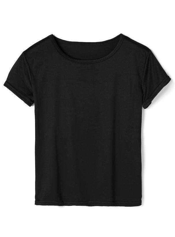 Tシャツ×ギンガムチェックキャミワンピース2点セット