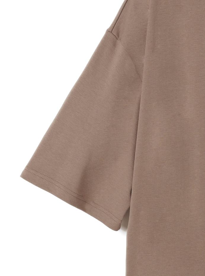 ポケット付きサイドスリットTシャツワンピース