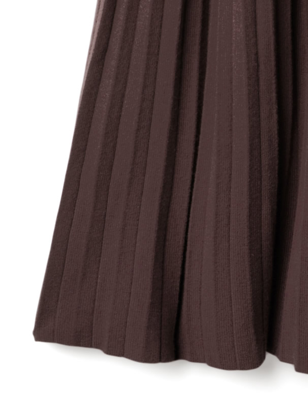 ニットプリーツスカート