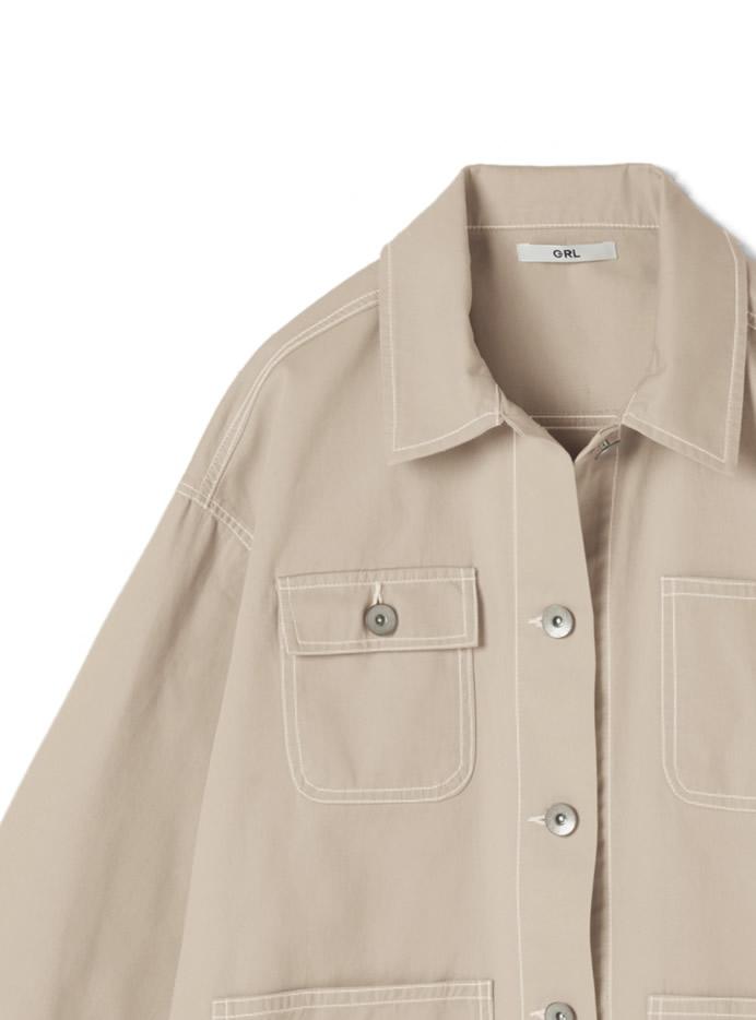 ツイルビッグジャケット