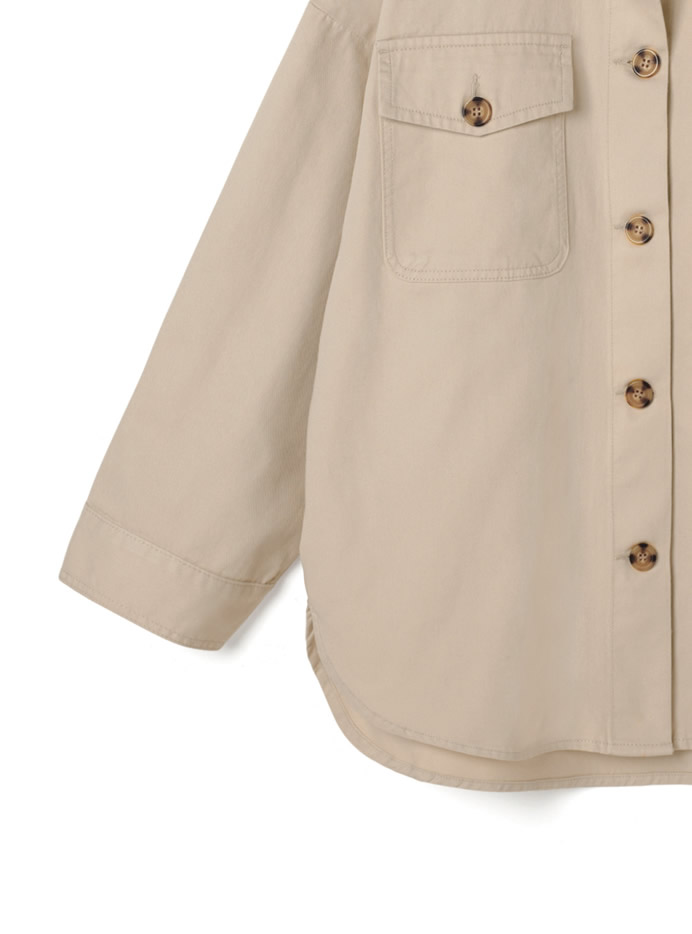 ツイルオーバージャケット