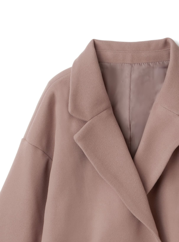オーバーサイズウールタッチテーラードジャケット
