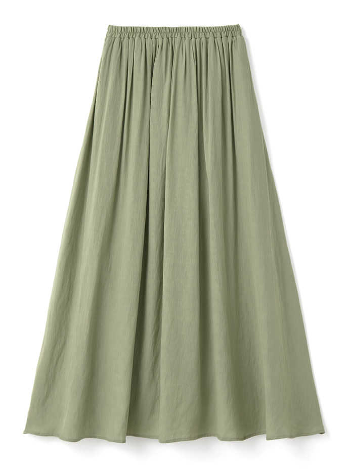 リネンライクロングスカート