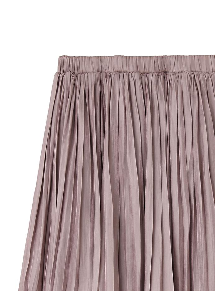 シャイニー消しプリーツスカート