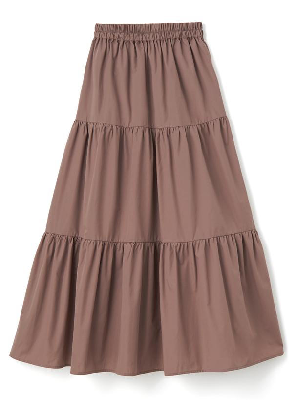 ティアードロングスカート