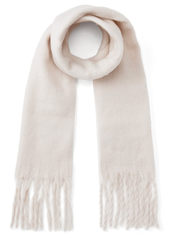 白石麻衣 フリンジマフラー