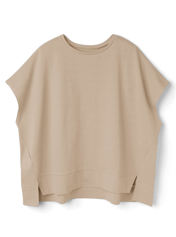 USAコットンフレンチスリーブワイドTシャツ