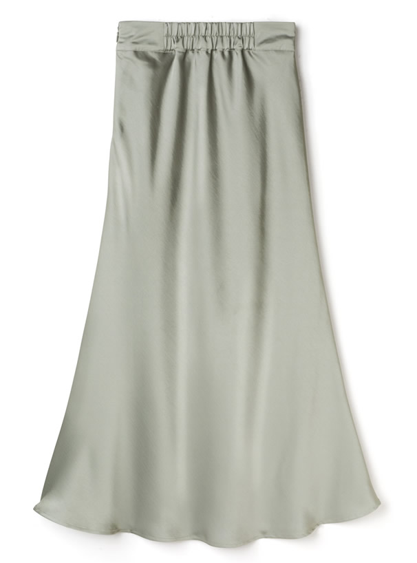 ヴィンテージサテンマーメイドスカート
