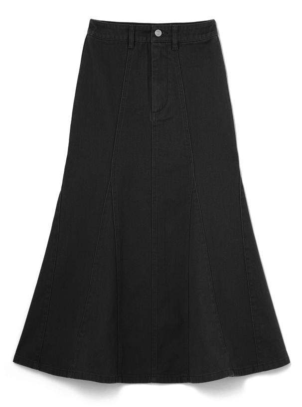 ツイルマーメイドフレアスカート