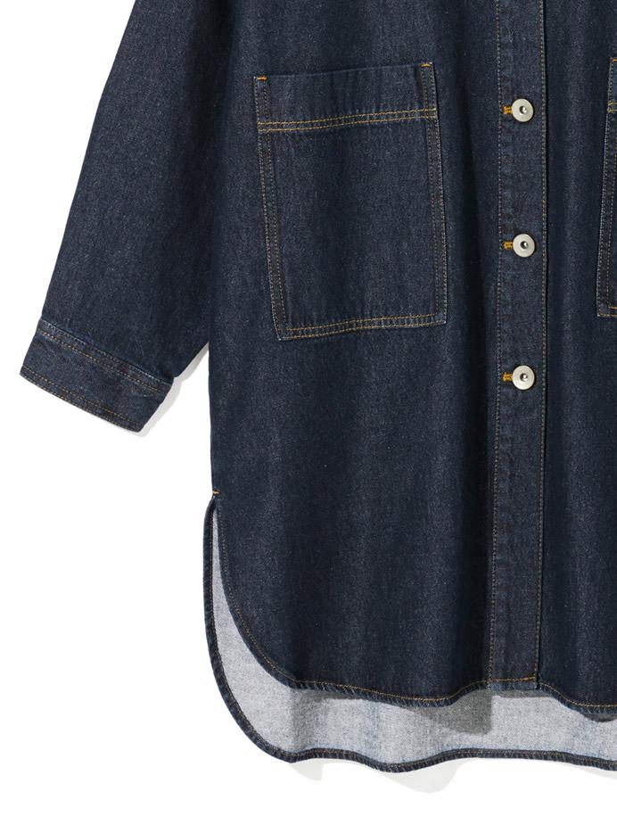 デニムビッグシャツジャケット