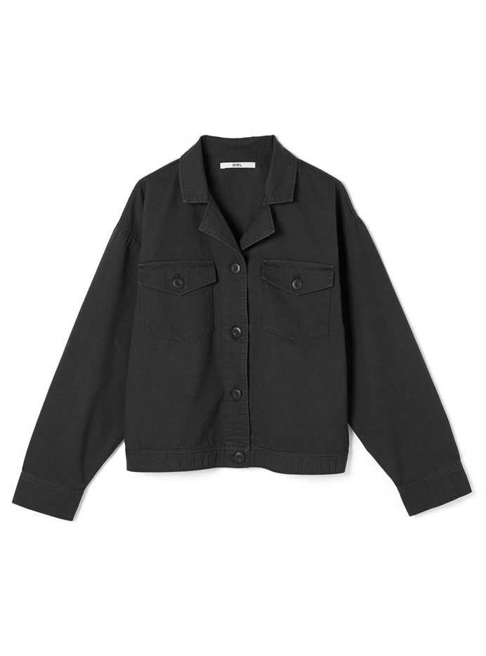 オープンカラーシャツジャケット