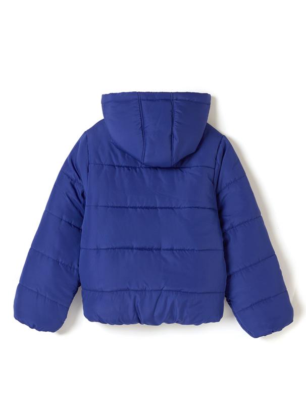 カラーフードエコダウンジャケット