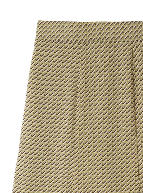 幾何学柄マーメイドフレアスカート
