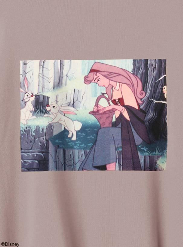 GRL ディズニープリンセスシリーズ オーロラ姫 ルーズスウェット