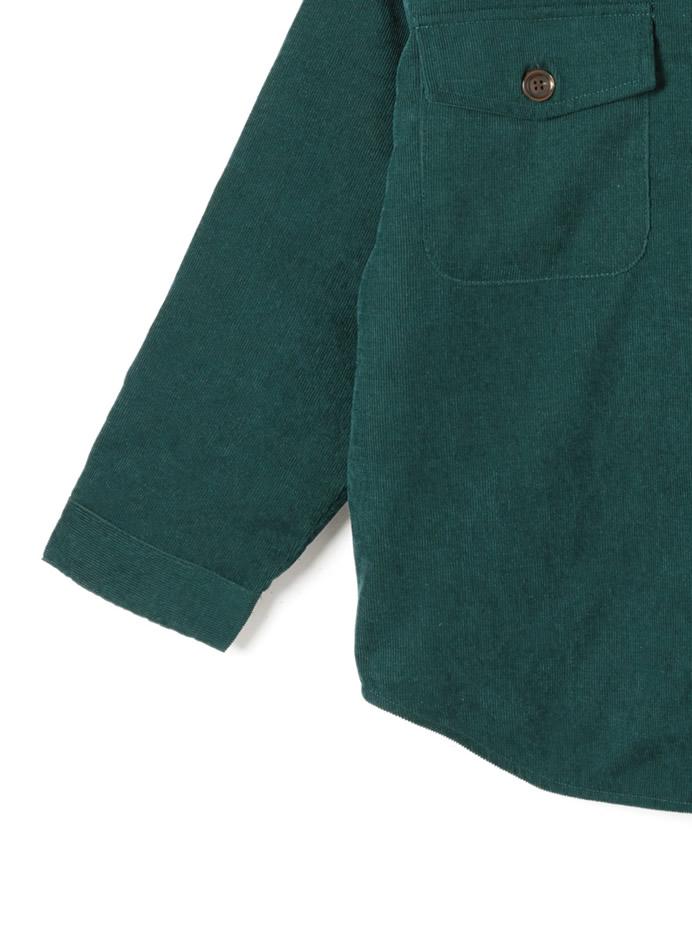 裏キルト中綿入りルーズジャケット