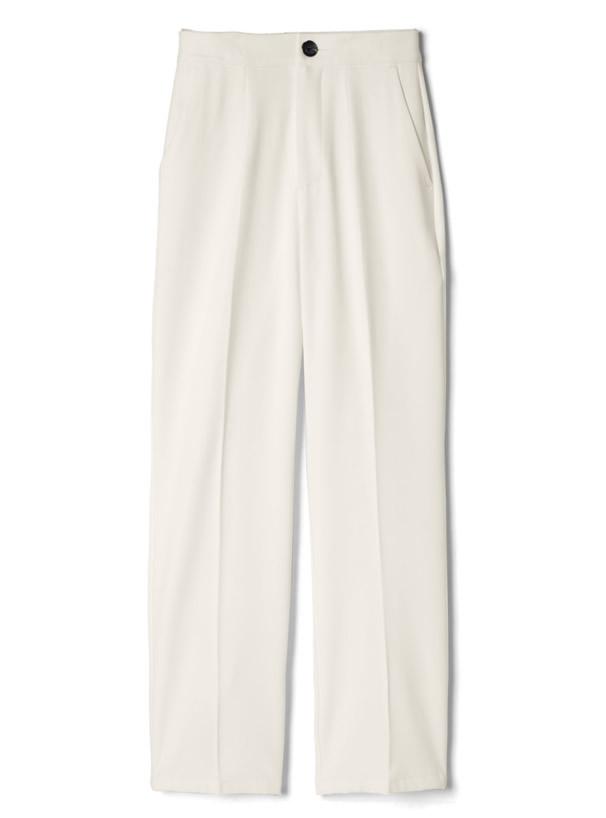 白石麻衣 センタープレスストレートパンツ