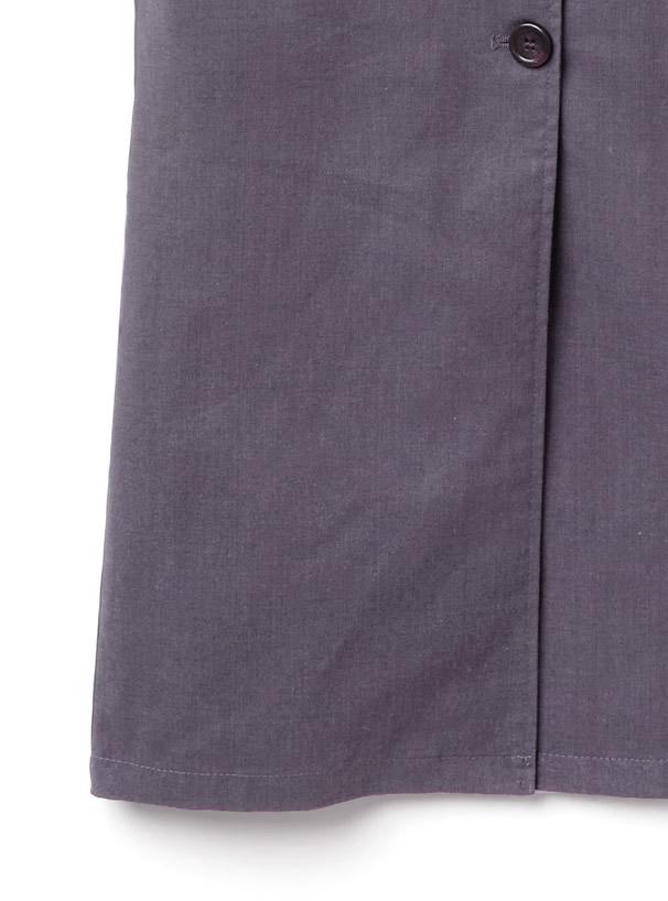 TシャツXベルト付フロントボタンベアワンピースセット