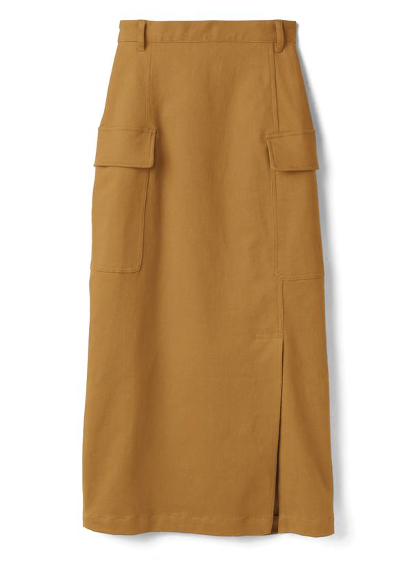 サイドスリットカーゴスカート