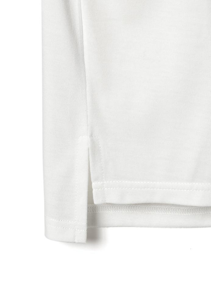 バックハートロゴプリントTシャツワンピース