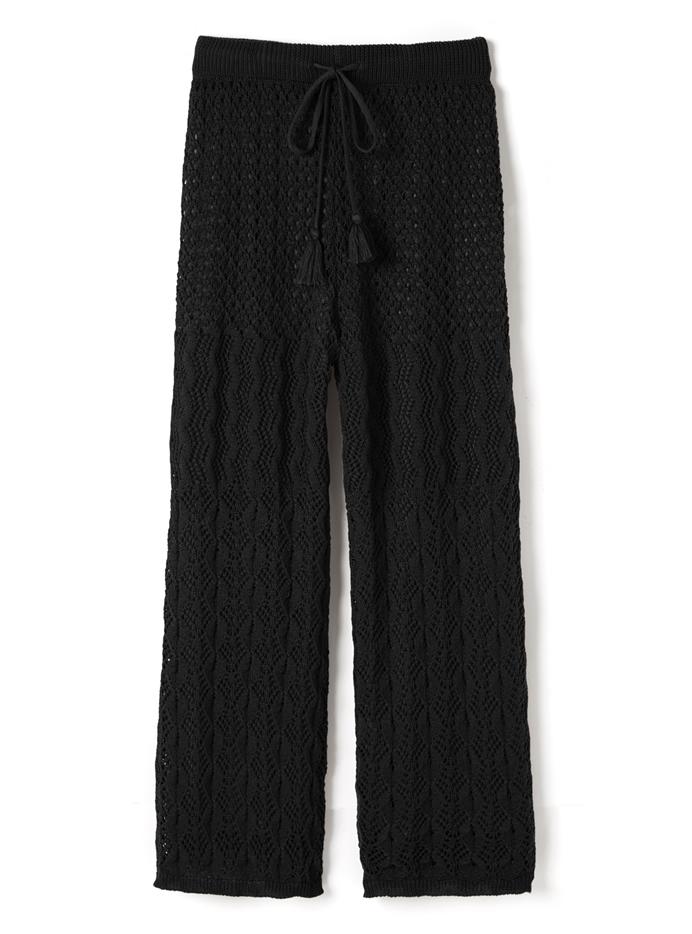 クロシェ編みパンツ