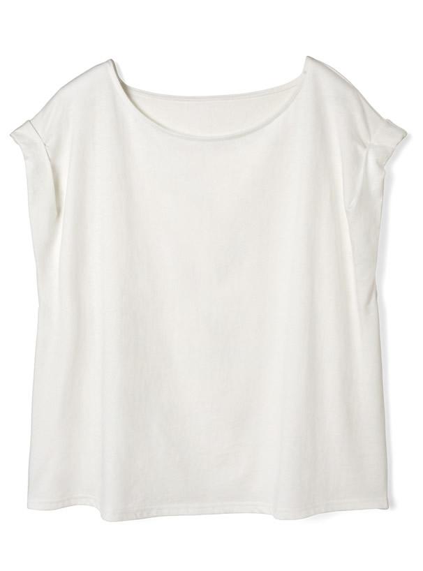 USAコットンロールアップTシャツ