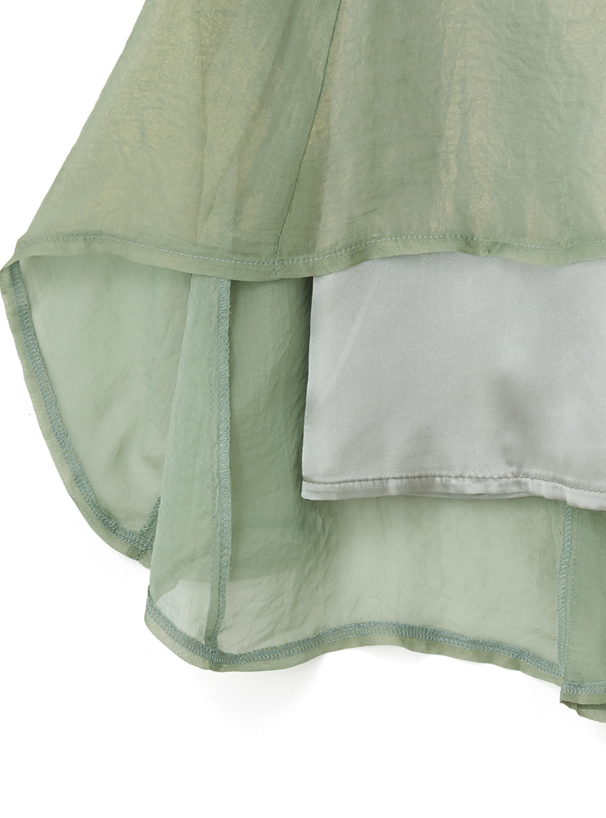 オーロララメシアーフレアスカート